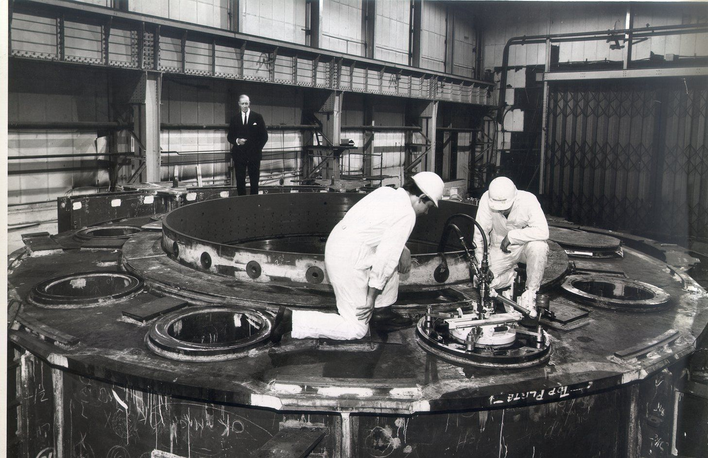 insitu machining inside Nuclear Power Station