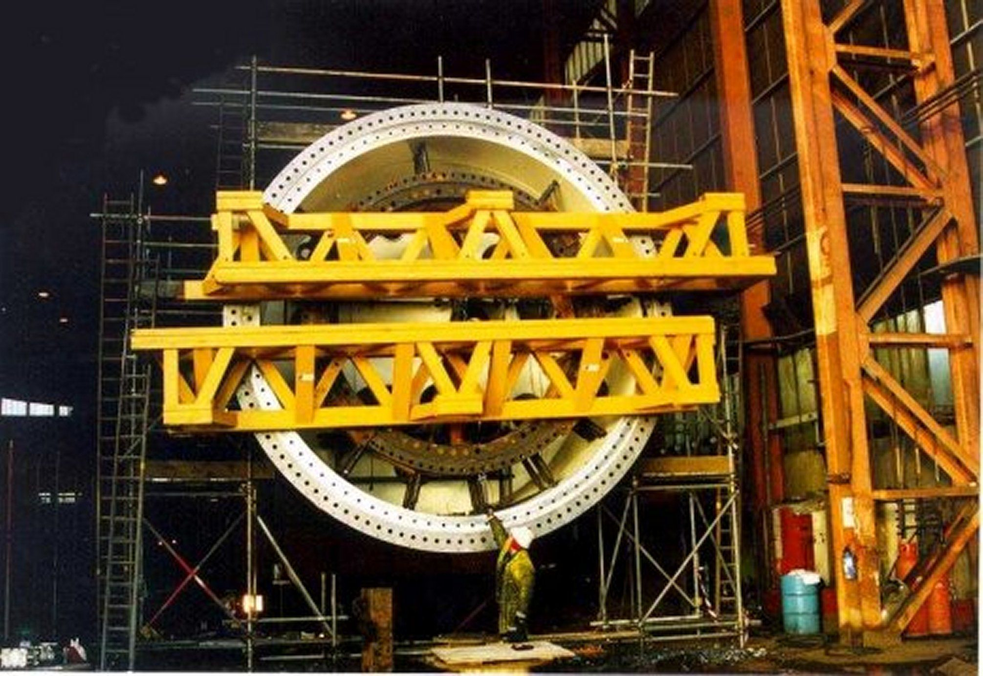 Large onsite machining Flange Facing and Repair